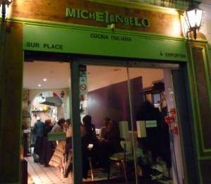 Montmartre Restaurants Michelangelo Christopher Pitts